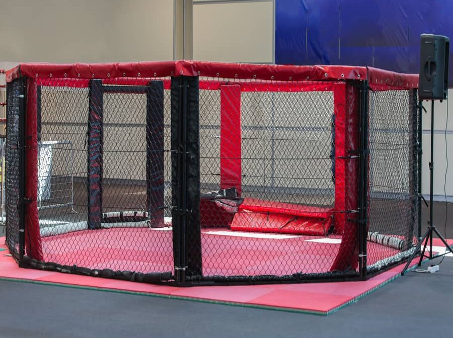UFC Cage Size. How Big Is UFC's Octagon?