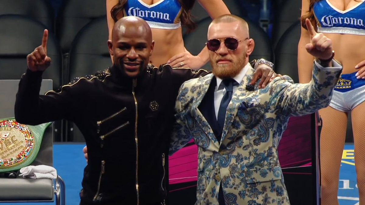 Can Floyd Mayweather Jr. Read? Or Was Conor McGregor Right?
