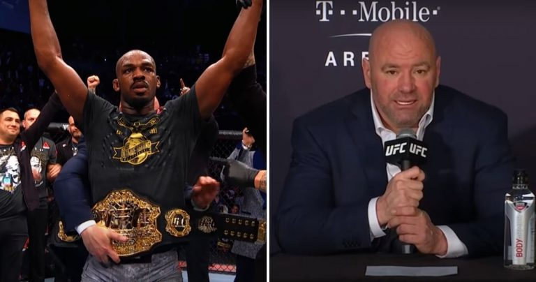 White Released The Figure Jones Was Asking To Fight Ngannou, Who Accuses Him Of Lying And Askes To Be Released From The UFC