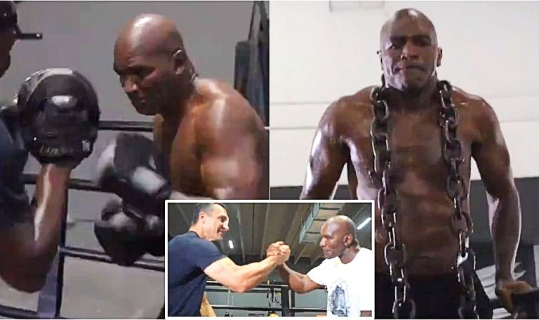 Holyfield Reveals  Candidates To Return To The Ring: There Is Talk Of Tyson And Two Big Former Rivals