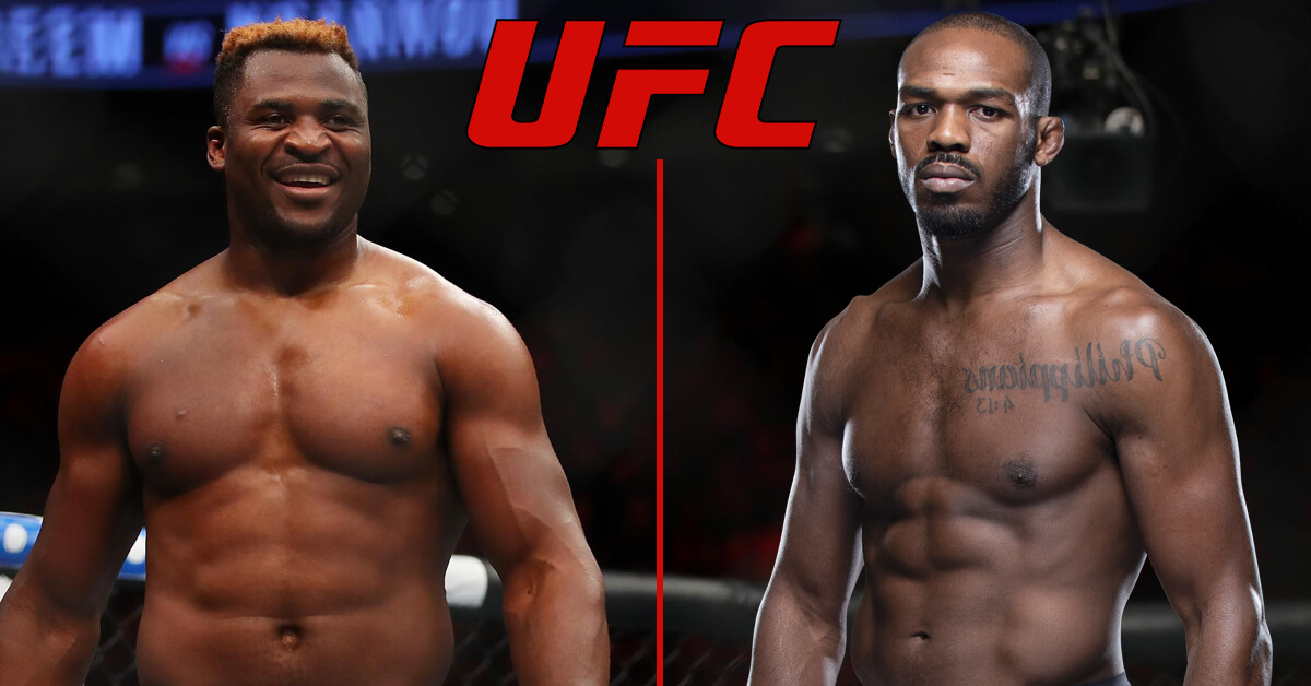 Ngannou Threatens With Knockout: 'I'm the One to Test How Good That Jones Chin Is'