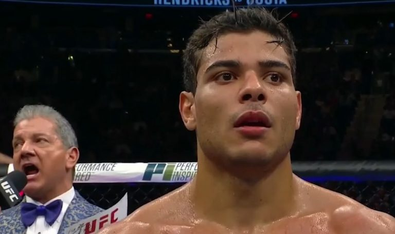 The Brazilian sets the price: Paulo Costa could ask the UFC for as much as $15 million