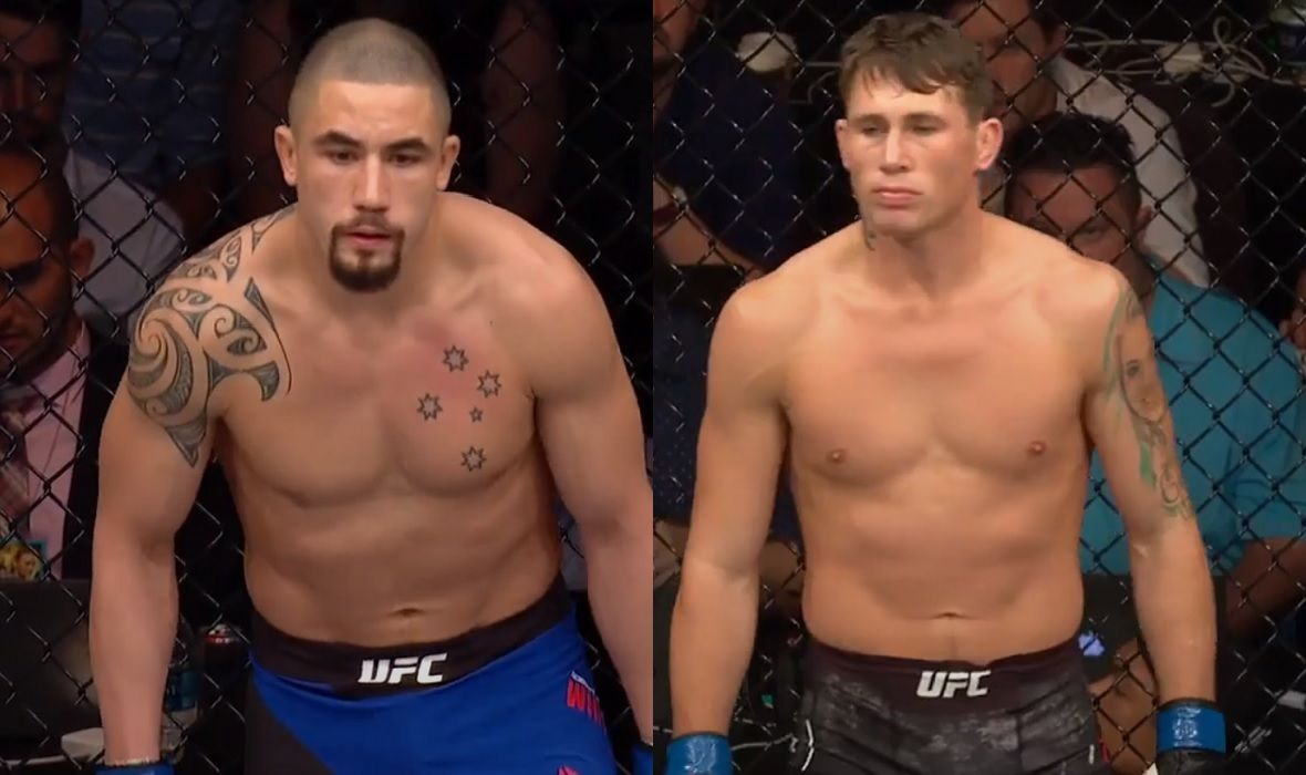 UFC Try's to Negotiate Whittaker and Till Fight For 'Fight Island'