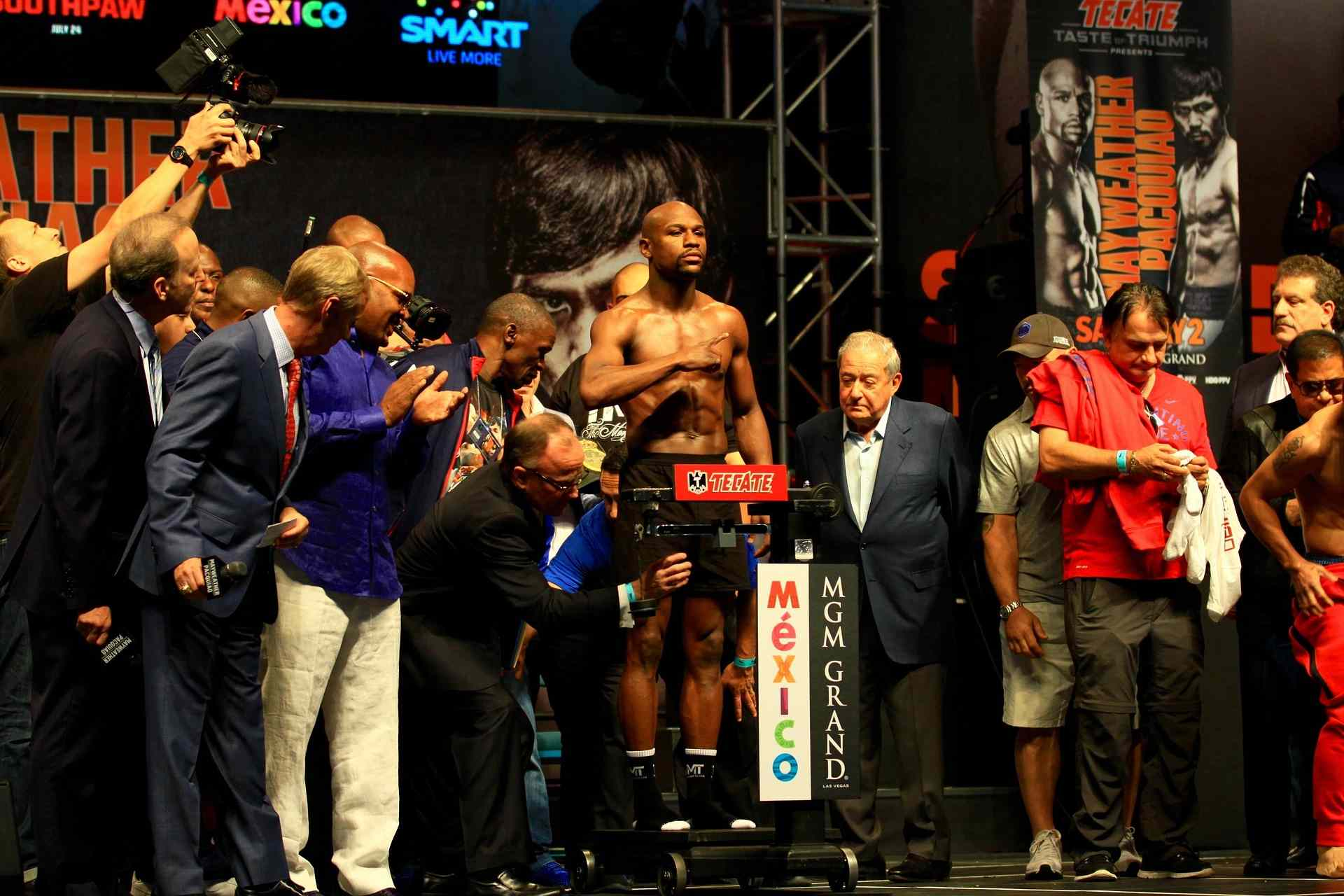 floyd weigh in