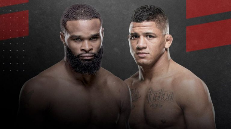Gilbert Burns Defeats Tyron Woodley At UFC Fight Night in Las Vegas