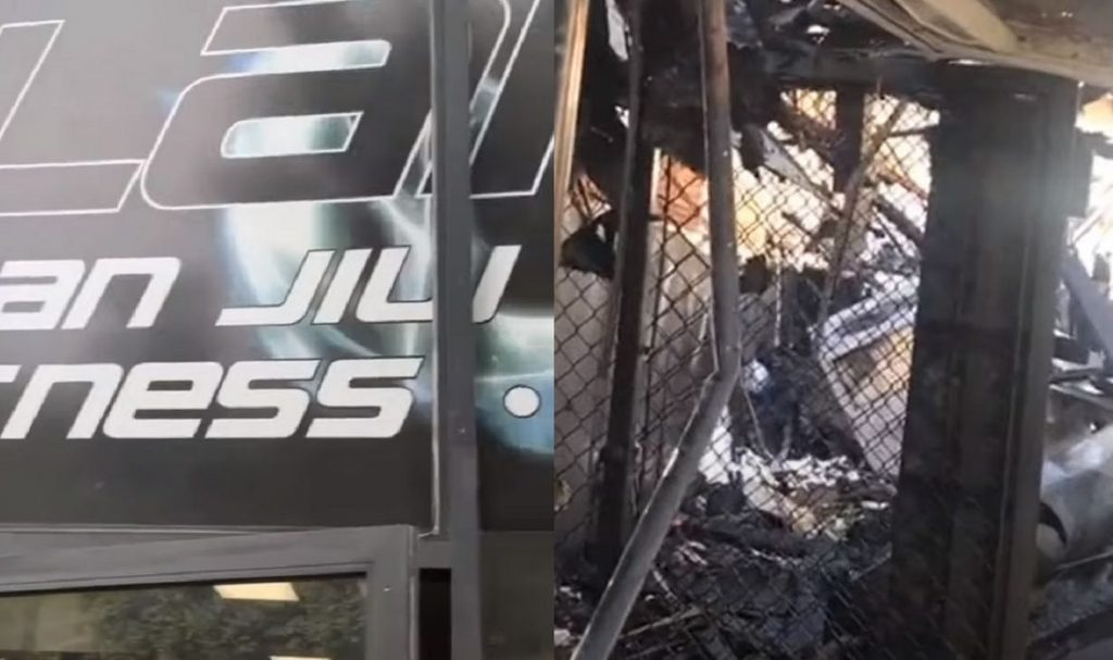 The Dark Side of the Protest: Famous BJJ Hall Burned, UFC Fighter Family Store Destroyed and Robbed (Video)
