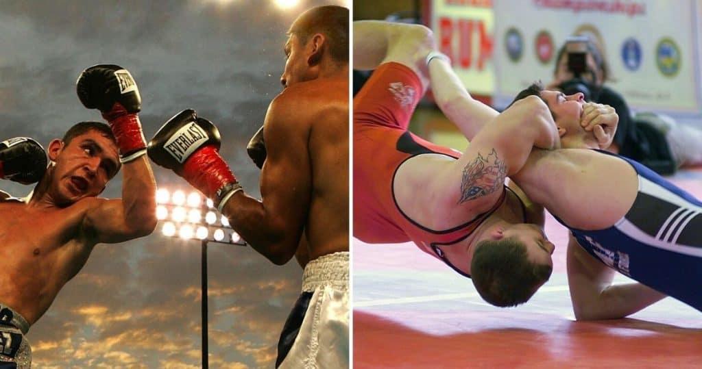 striking vs grappling