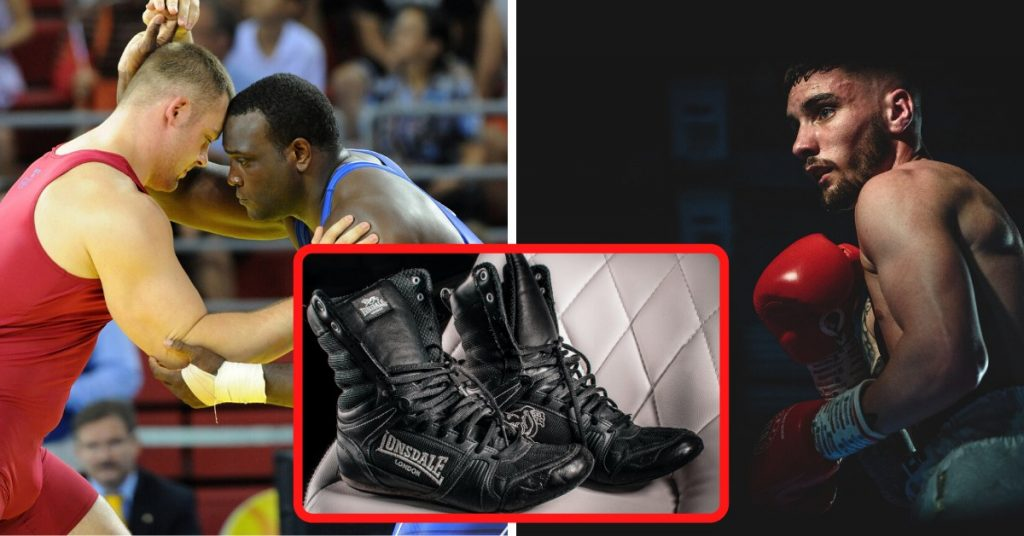 Difference Between Boxing and Wrestling Shoes