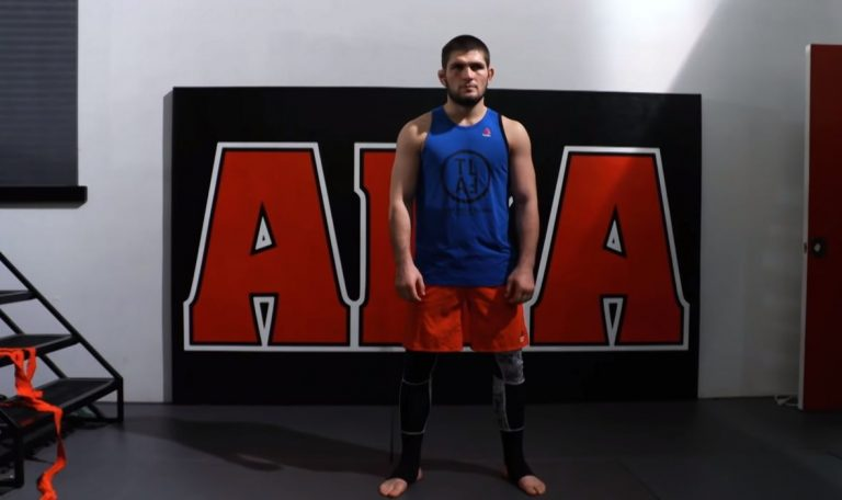 Khabib Is Openly Promoting His Next Opponent Via Instagram