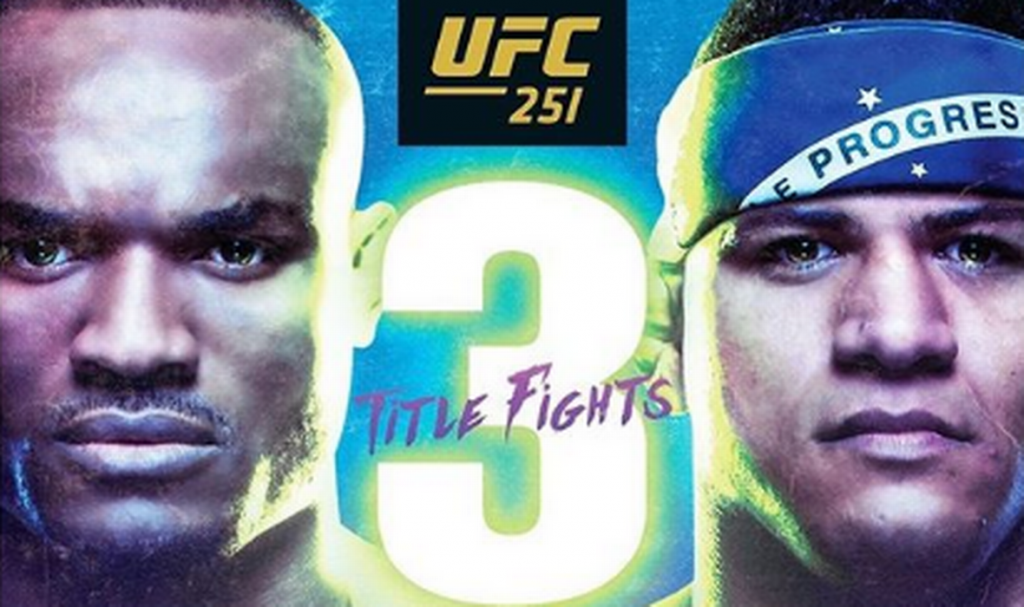The poster for the big UFC 251 attracted attention and delighted fans with one small detail