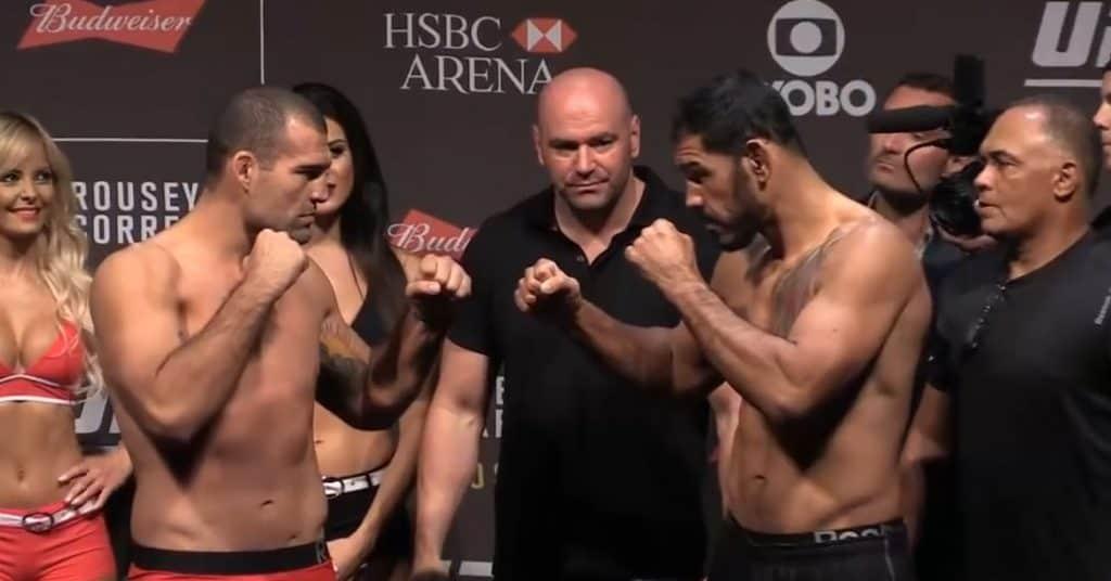 UFC books Antonio Rogerio Nogueira vs. Mauricio Rua 3 for July 24 on Fight Island