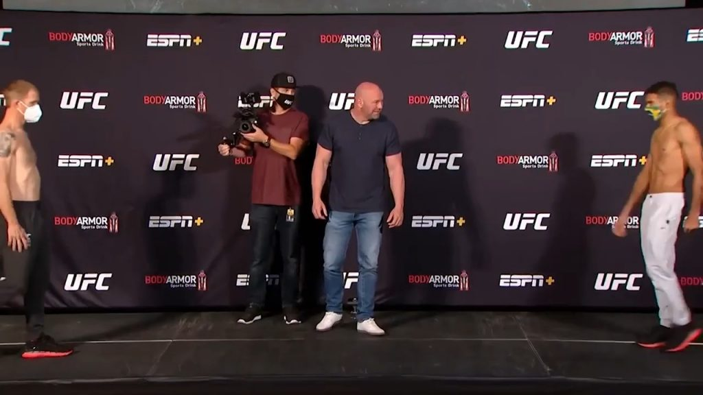 (VIDEO) Watch the never more unusual face-offs of all UFC 250 participants