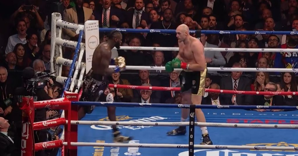 Fury claims that there is only one fighter other than him who can beat Wilder