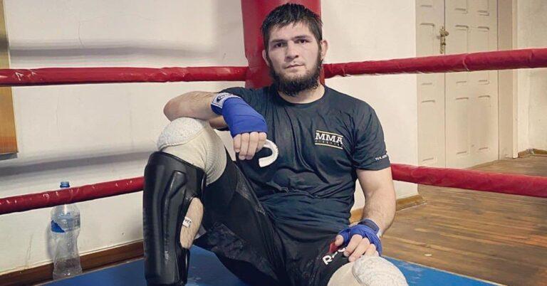(PHOTO) Khabib Nurmagomedov Back to Training!
