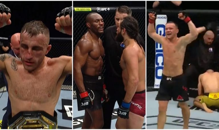 Usman Dominated Masvidal, Controversial Decision in Volkanovski-Holloway Match, Russia Has a New Champion!