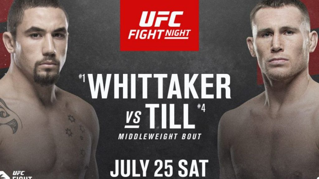 Everything You Need to Know About the Next UFC Event: Whittaker Vs. Till, the Farewell of an Absolute Legend...