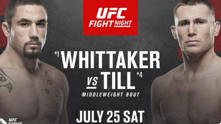 Everything You Need to Know About the Next UFC Event: Whittaker Vs. Till, the Farewell of an Absolute Legend…