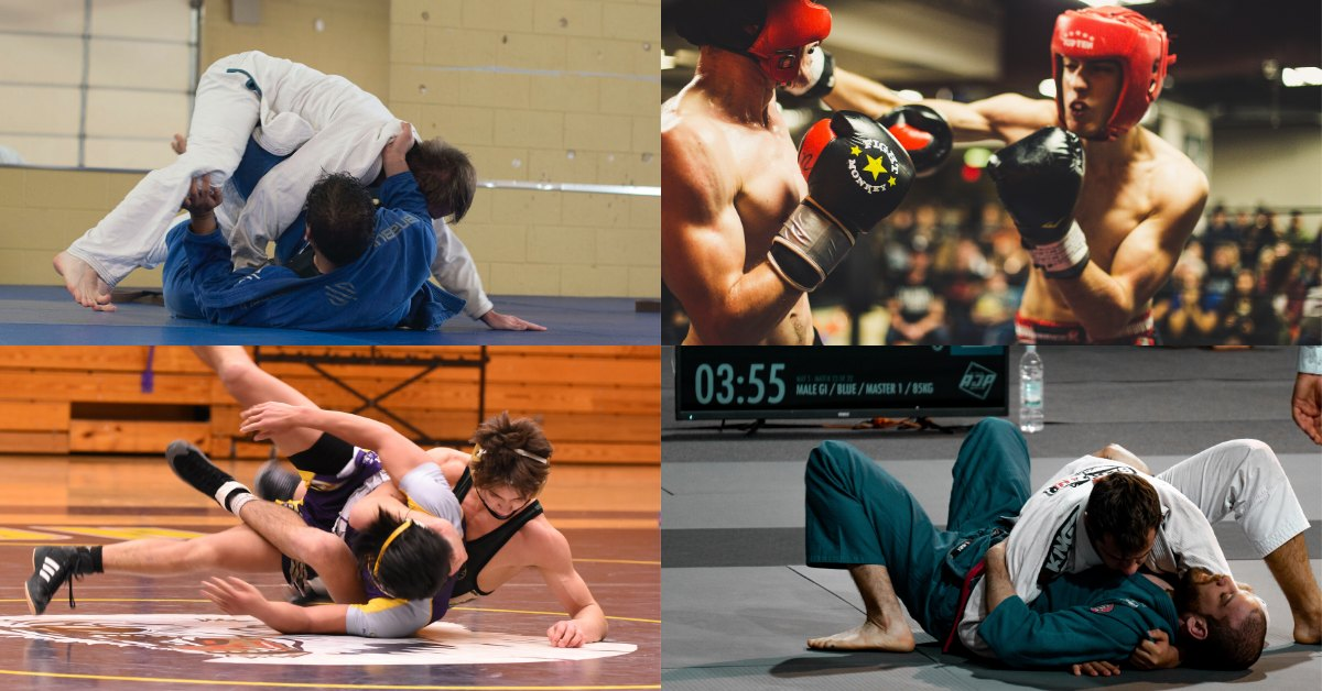 Martial Arts Without Kicks: The Complete List