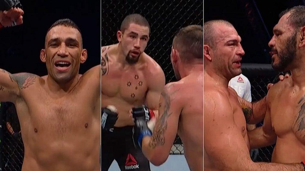 Whittaker Defeated Till, Werdum Quickly Stopped Gustafsson, and We Have a Completed Legendary Trilogy!