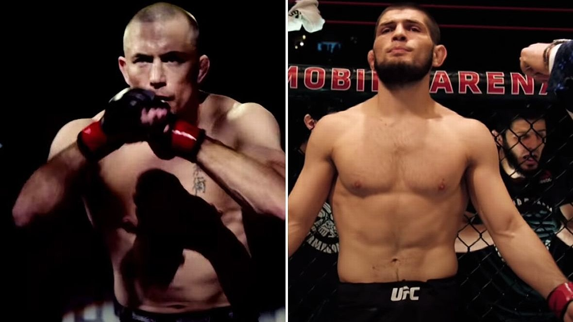 GSP Explained Why He Wanted The Match With Khabib So Much