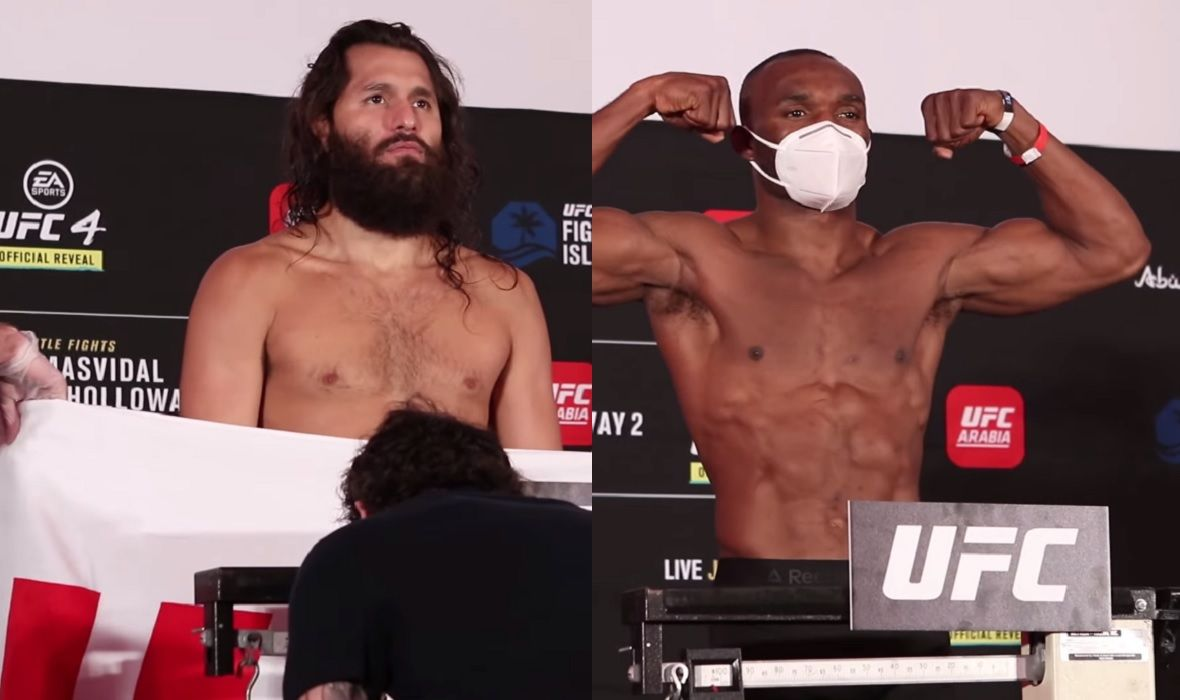 (VIDEO) UFC 251 Weighing Held: Major Stars Accurate, But Two More Than Allowed