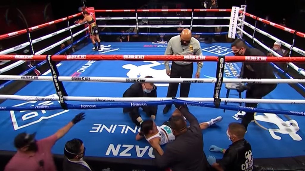 (VIDEO) Watch The Fastest And One Of The Most Brutal Knockouts In The History Of Women's Boxing!