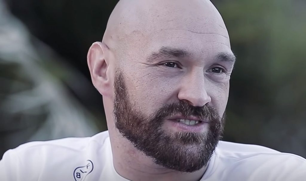 Tyson Fury Did Not Forget his Shadow Hero: 'He texted me and sent some money!'