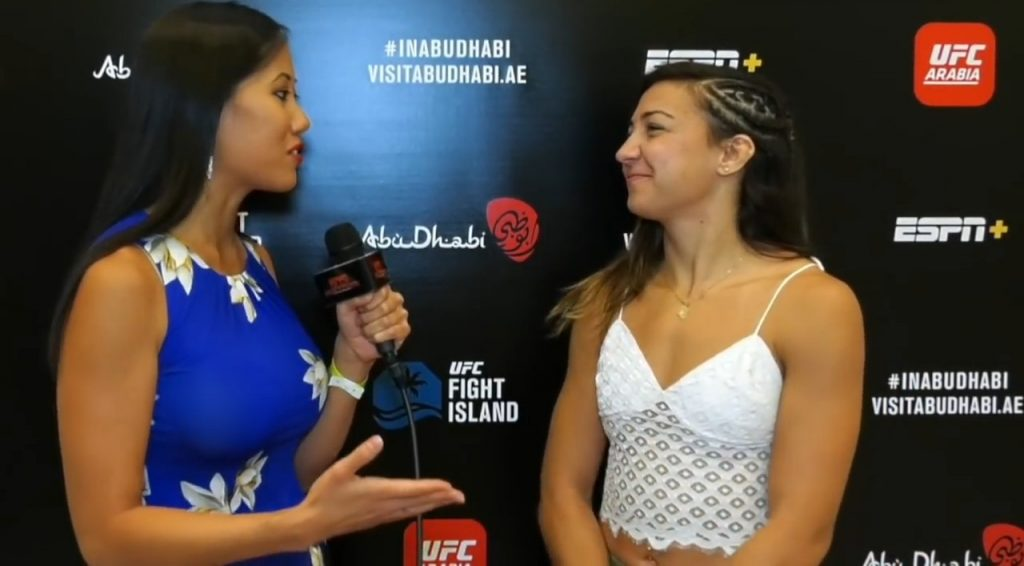 Amanda Ribas: A New Women UFC Star Is Born!