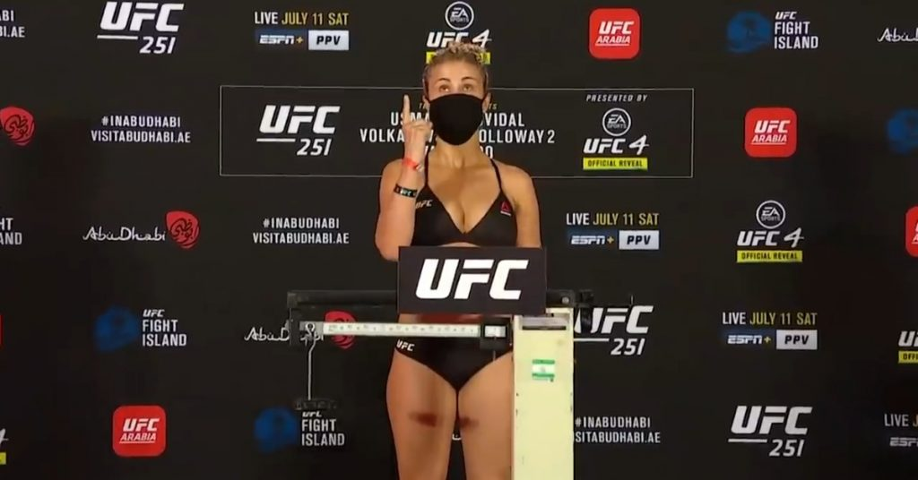 Dana White Happy to End Cooperation with Paige VanZant