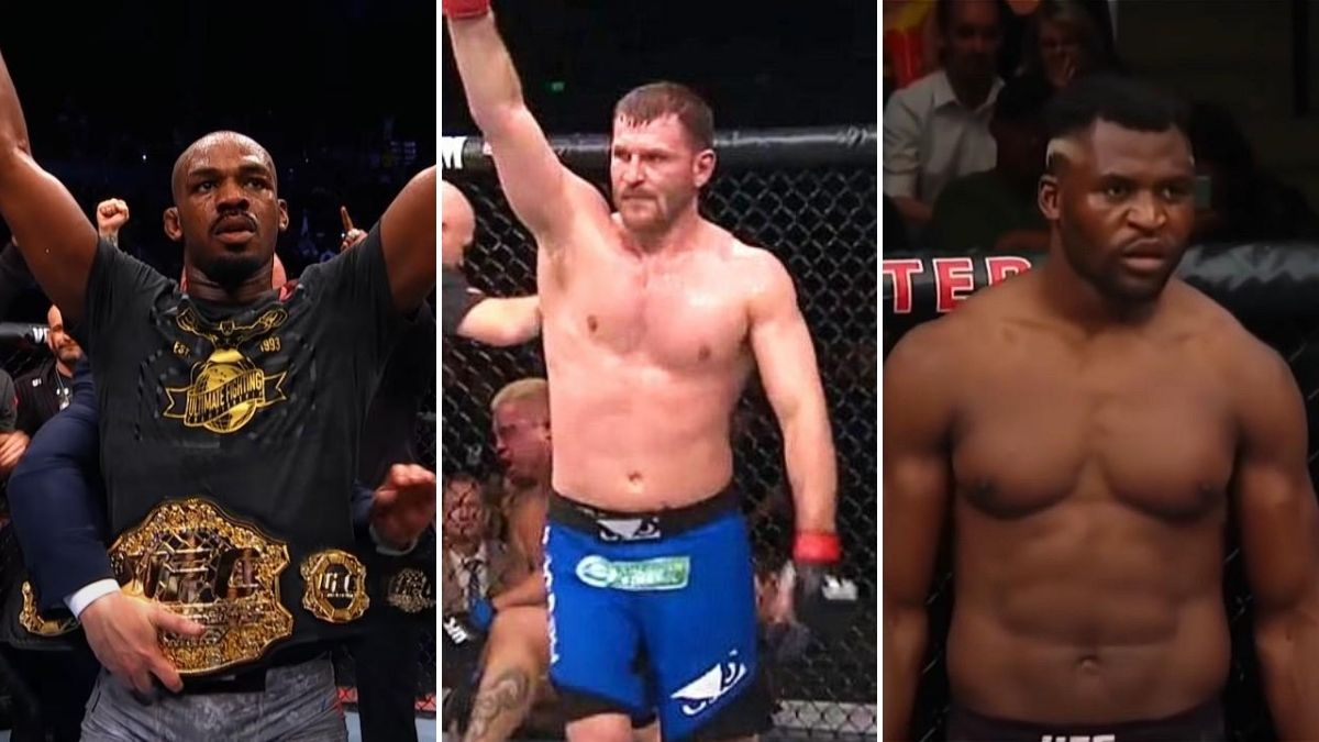 Take a Look What Odds are The Bookmakers Giving Miocic Against Ngannou and Jones