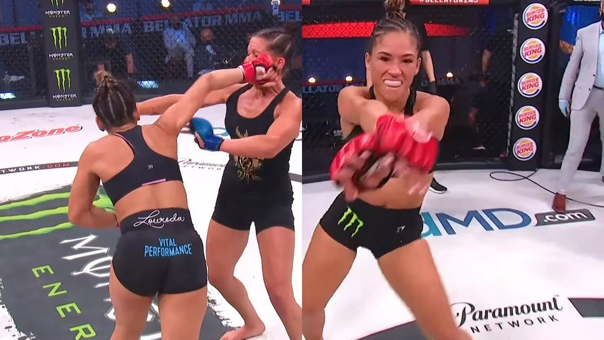 (VIDEO) Watch the Phenomenal Knockout of Bellator's Beauty and Her Winning Dance