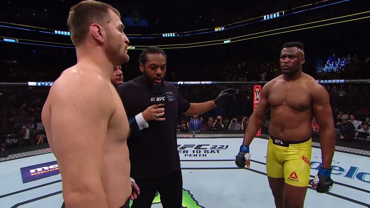 Ngannou Called From Cameroon and Announced a Vicious Rematch: 'Stipe looked great, but I'm making progress!'