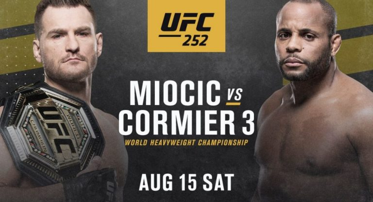 (VIDEO) We Have Entered Fight Week: Stipe and DC in the Lead Roles of a Phenomenal Countdown Announcement