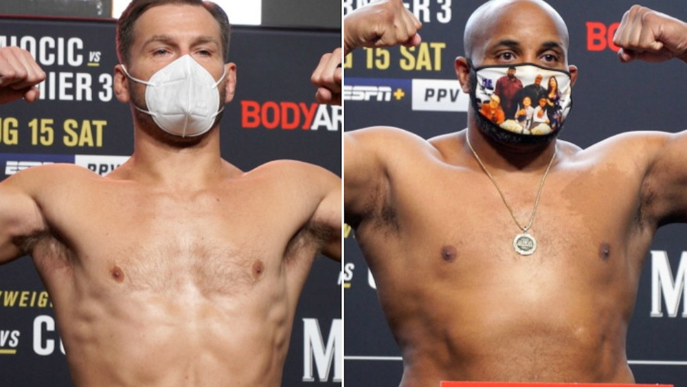 (VIDEO) Miocic Impressed With His Appearance, Cormier's Weight Will Surprise You!