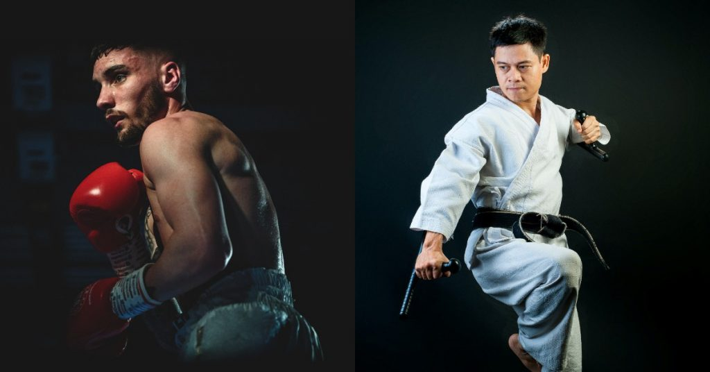 What Is the Difference Between Karate and Boxing?