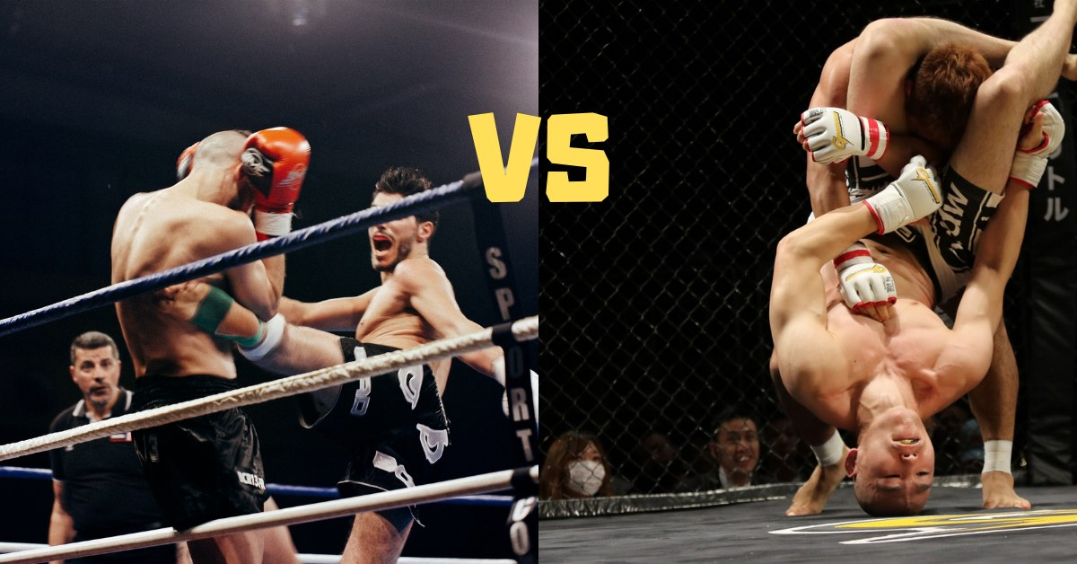 Kickboxing vs MMA Differences