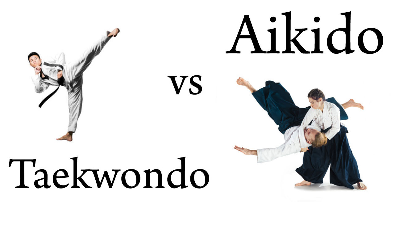 Taekwondo vs Aikido Differences