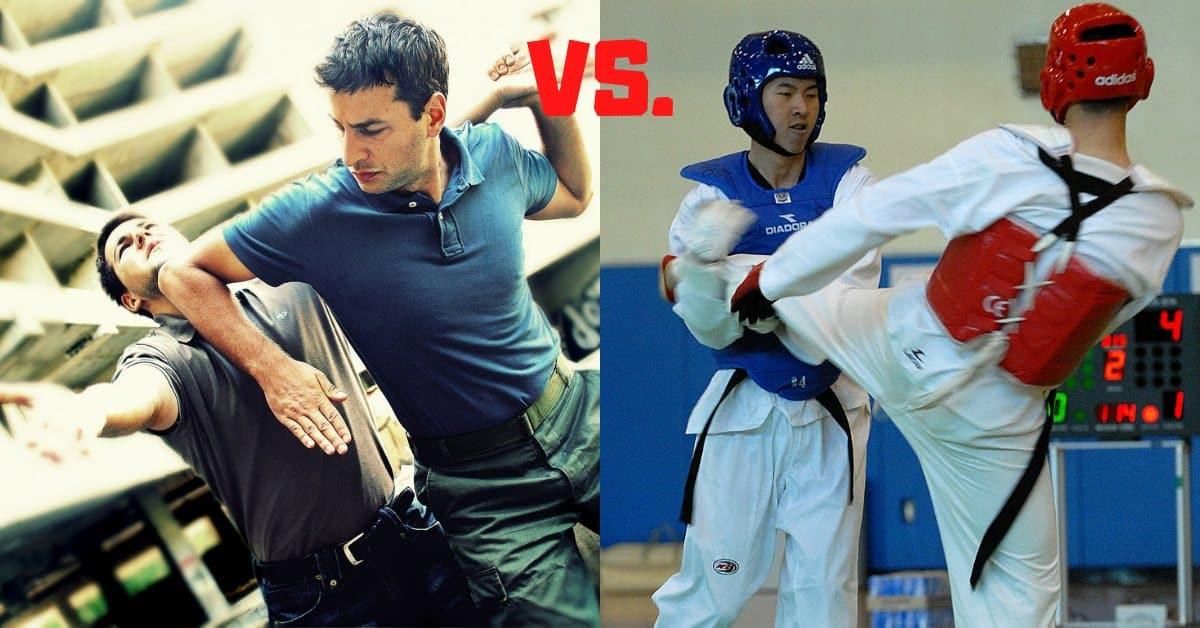 Krav Maga vs Taekwondo Differences