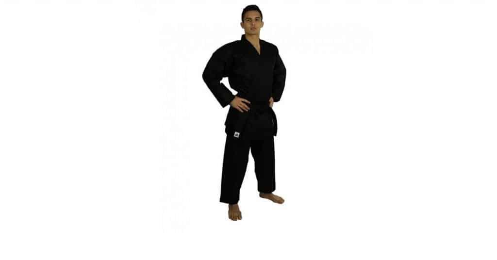 All Black Open Martial Arts Uniform Review