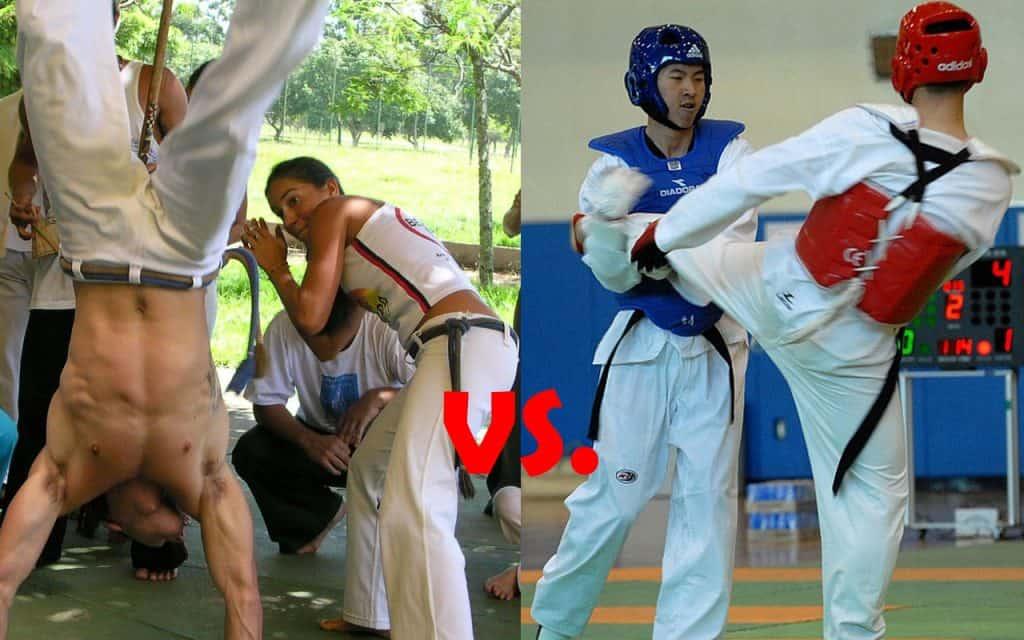 Capoeira vs Taekwondo Differences