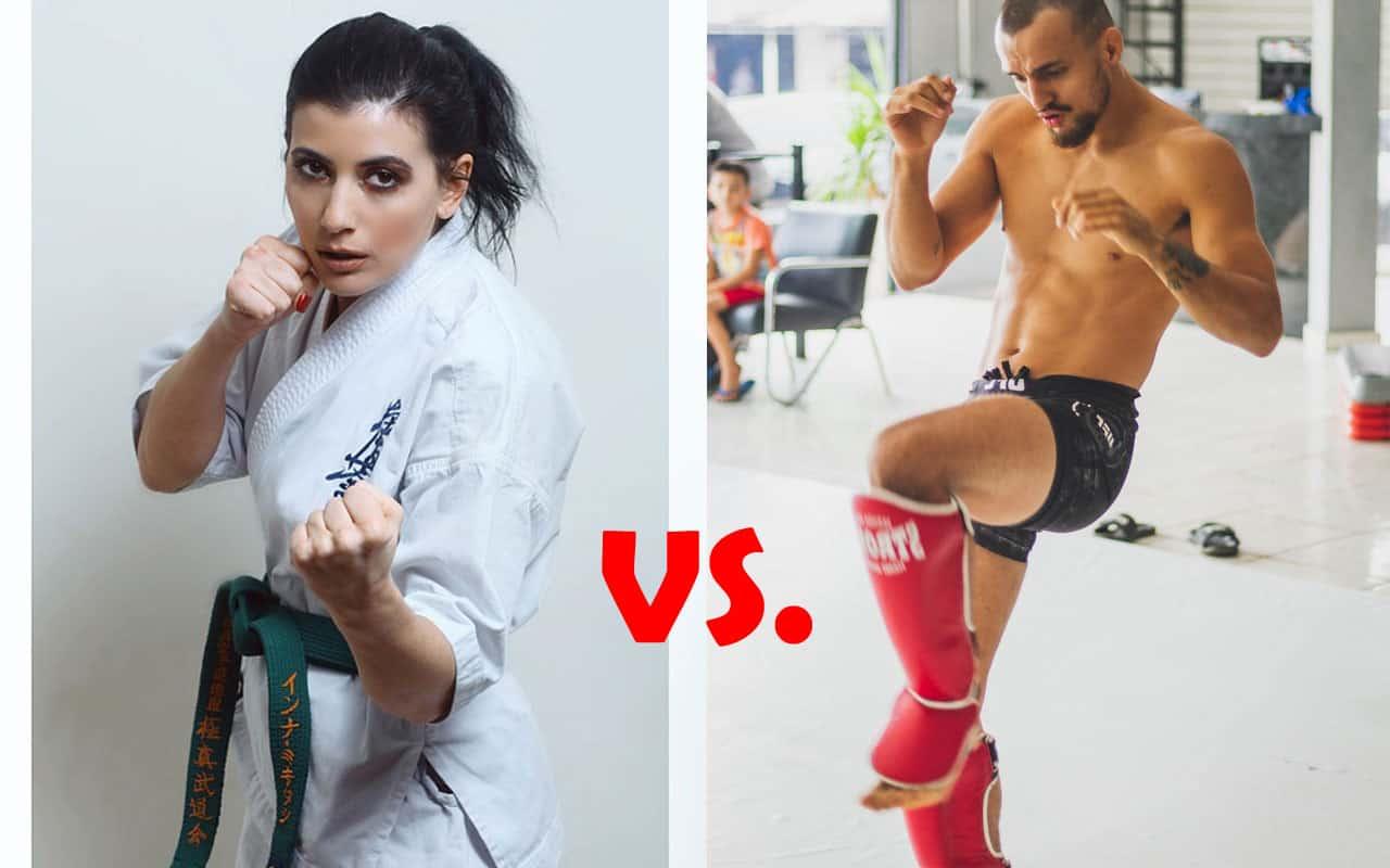 Karate vs Kickboxing Differences