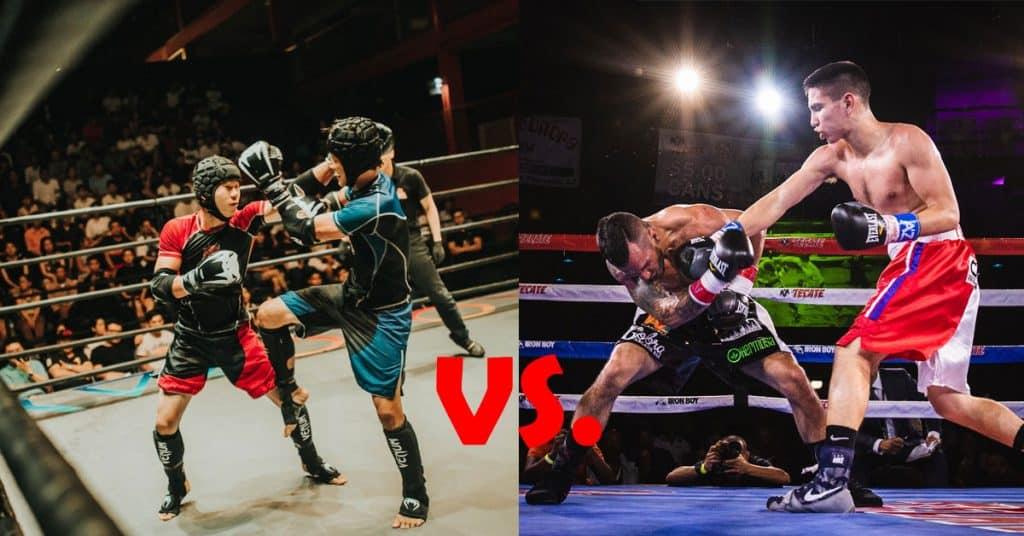 Kickboxing vs Boxing Differences