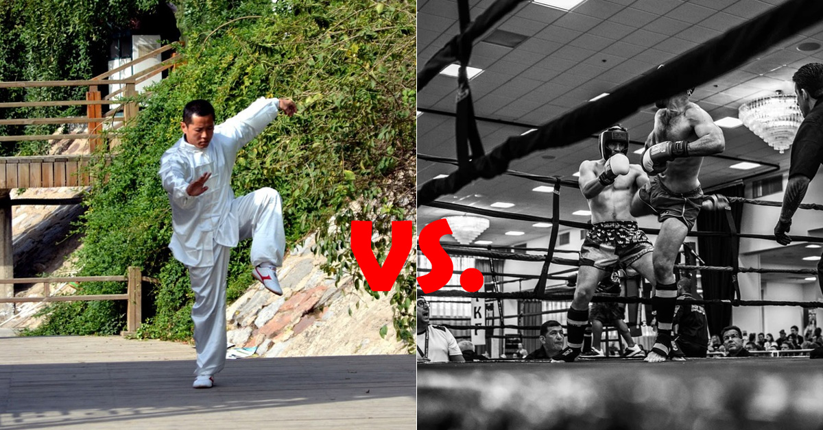 Kung Fu vs. Kickboxing Differences