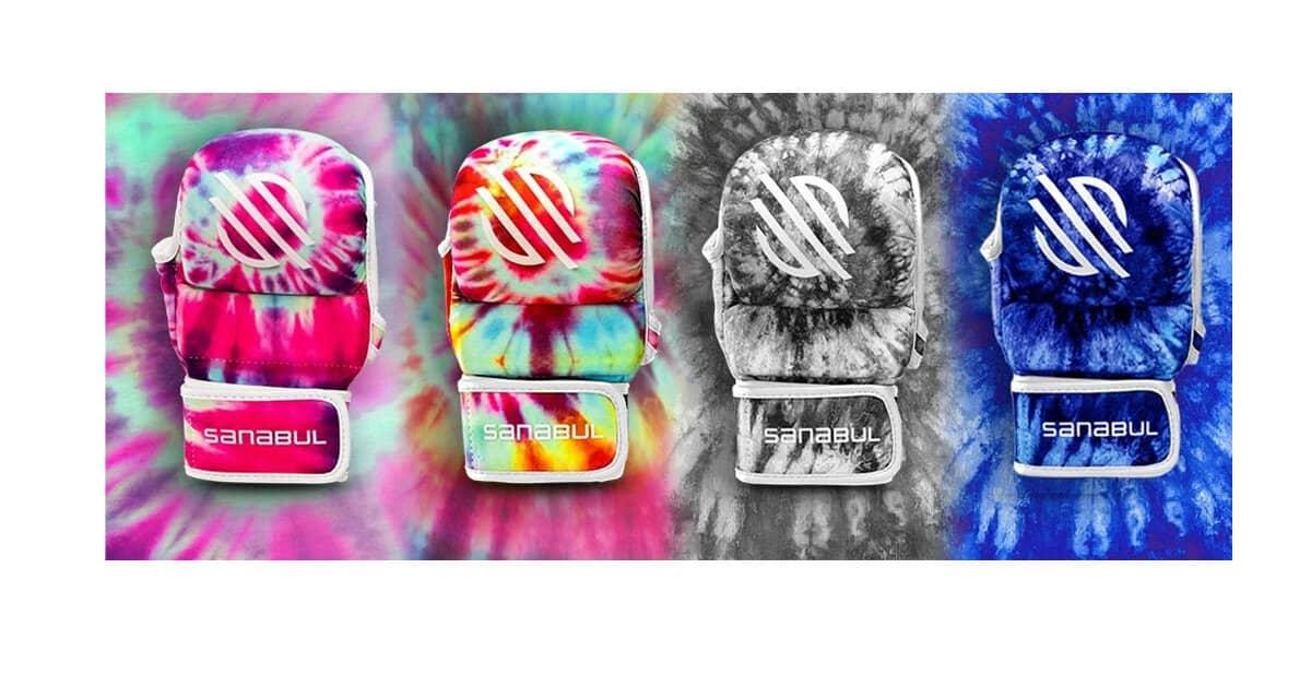 Sanabul Funk Strike Tie Dye 7 oz MMA Hybrid Sparring Gloves Review