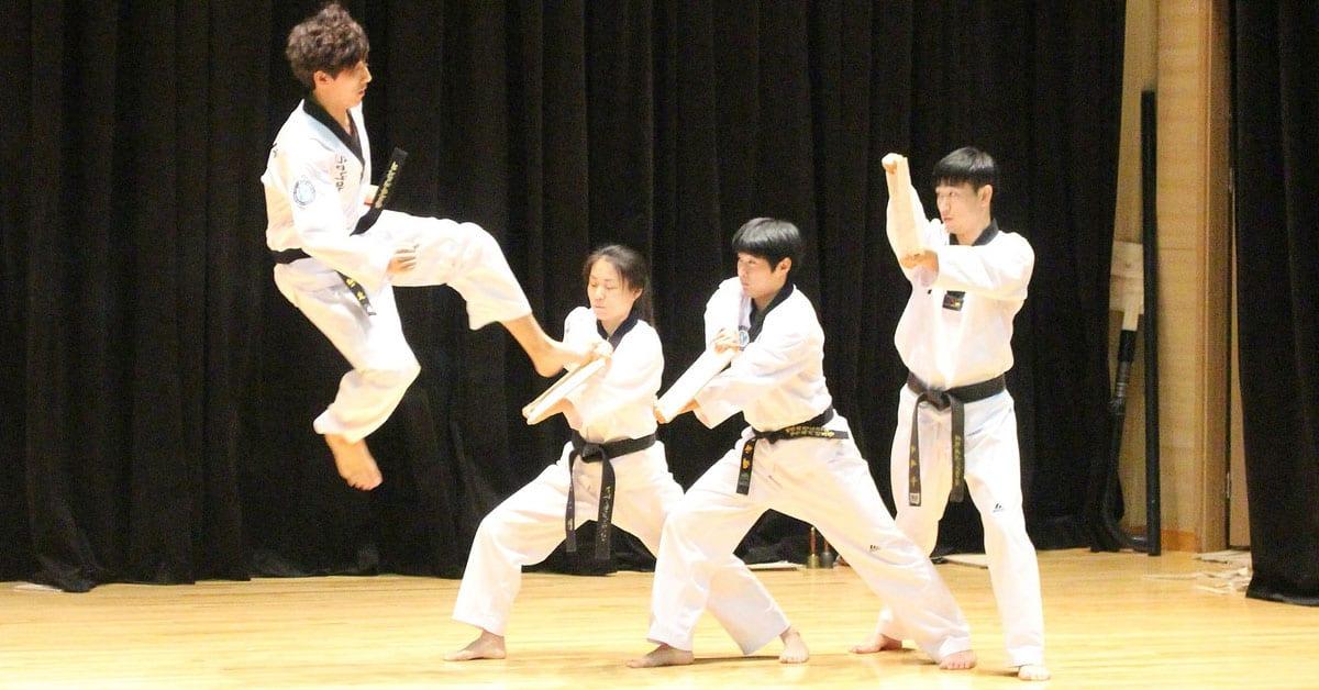 Taekwondo Board Breaking Ideas