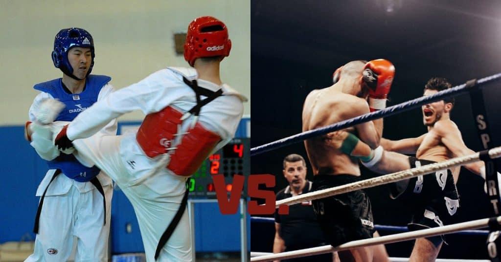 Taekwondo vs. Kickboxing Differences