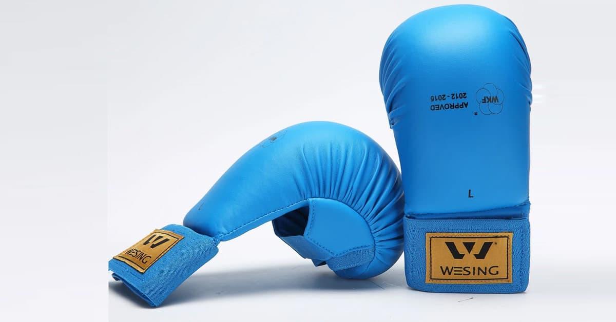 Wesing WKF Sparring Karate Gloves Review