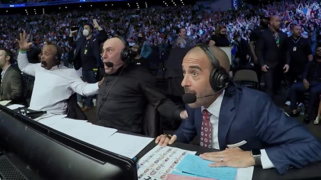 why is joe rogan not commentating ufc